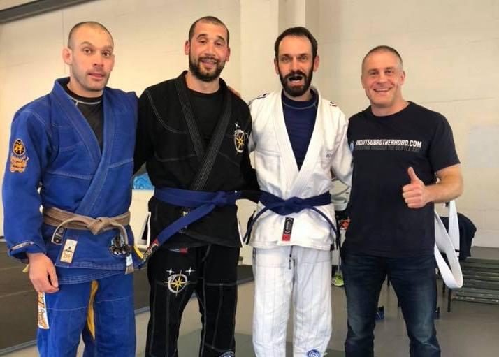 Three New Blue Belts